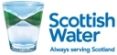 Scottish Water Logo : This link opens in a new window