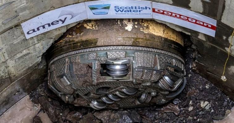 Paisley tunnel breakthrough