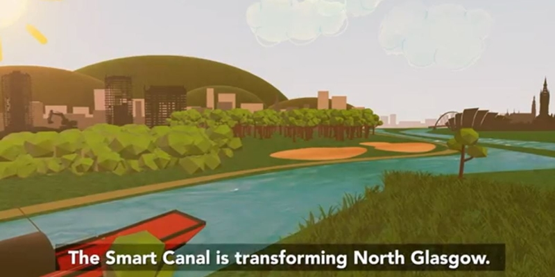 Smart Canal Animation