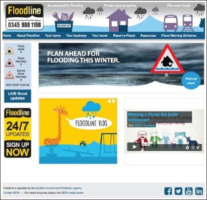 SEPA Winter Flooding Awareness Campaign